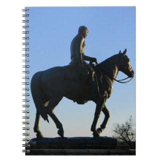 Cuaderno Rogers en la puesta del sol
