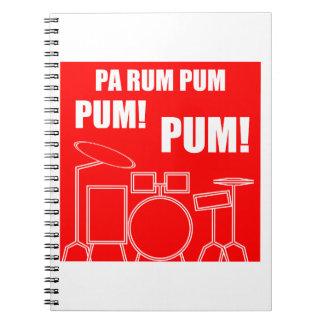 Cuaderno Ron Pum Pum Pum del PA