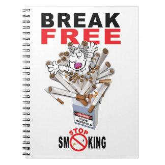 Cuaderno ROTURA LIBRE - pare el fumar