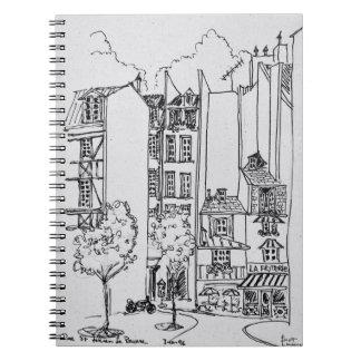 Cuaderno Ruda Santo-Julien-le-Pauvre el | París, Francia