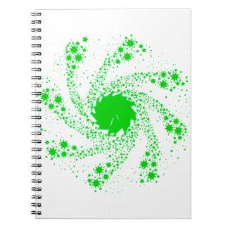 Cuaderno Rueda verde del Pin