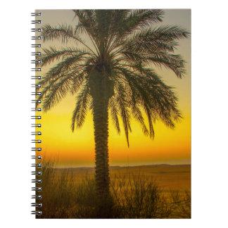 Cuaderno Salida del sol de la palmera