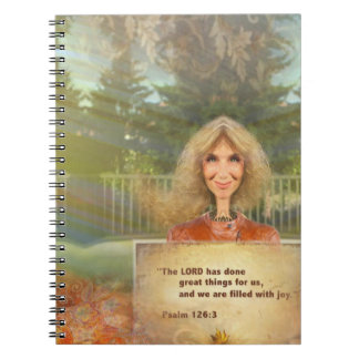 Cuaderno Salmo 126 de la caída del cuento de hadas llenado