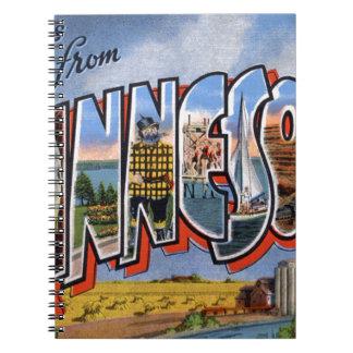 Cuaderno Saludos de Minnesota