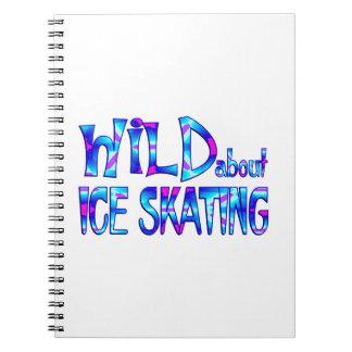 Cuaderno Salvaje sobre el patinaje de hielo