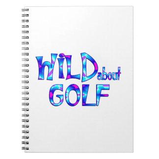 Cuaderno Salvaje sobre golf