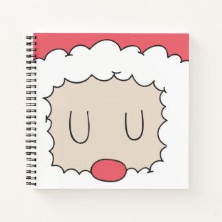 Cuaderno Santa durmiente lindo y el suyo Guestbook del