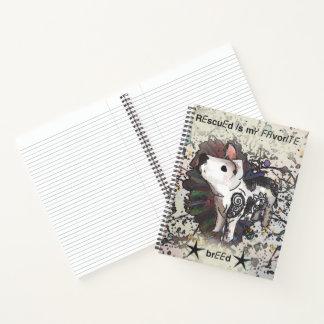 Cuaderno Se rescata mi raza preferida