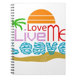 Cuaderno Sea sun love