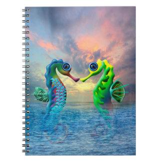 Cuaderno Seahorses