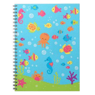Cuaderno Sealife