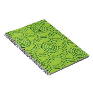 Cuaderno Selva tropical aborigen del arte