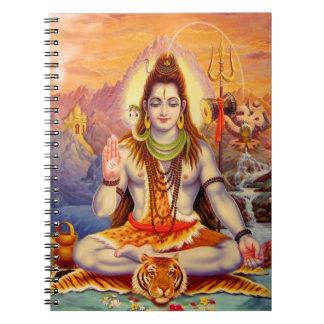 Cuaderno Señor Shiva Meditating Notebook