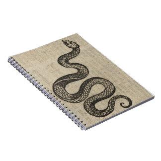 Cuaderno Serpiente