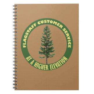 Cuaderno Servicio de atención al cliente de la asta de
