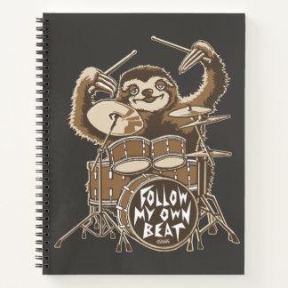 Cuaderno Siga mi propio golpe