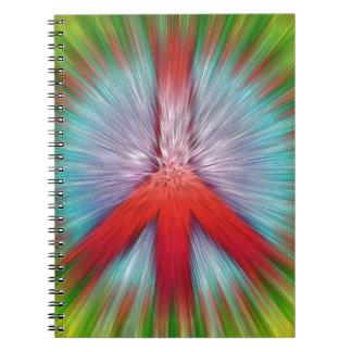 Cuaderno Signo de la paz de Starburst