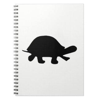 Cuaderno Silueta de la tortuga