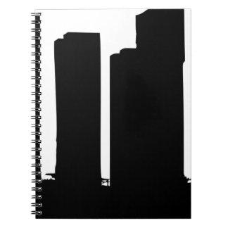 Cuaderno Silueta del paisaje urbano