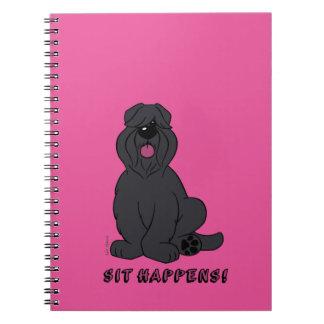 Cuaderno Sit happens