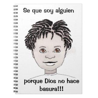 """Cuaderno """"Soy alguien"""" diario (los españoles del muchacho)"""