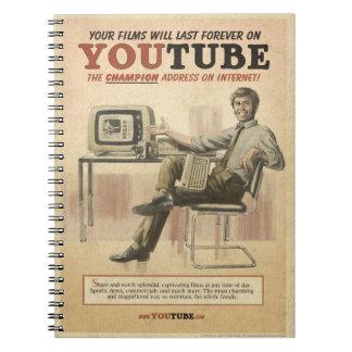Cuaderno spiral notebook youtube