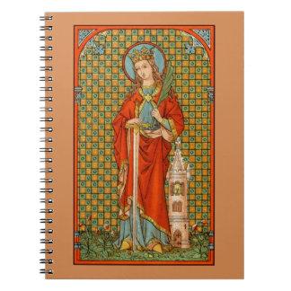 Cuaderno St. Barbara (JP 01) (estilo #2)