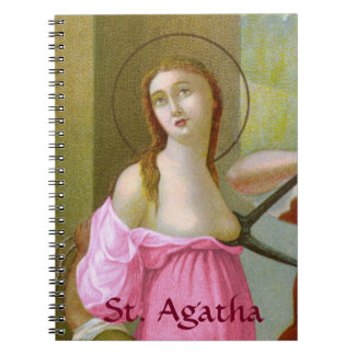 Cuaderno St. rosado Agatha (M 003)
