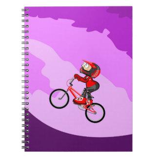 Cuaderno Subiendo la montaña en tu bicicleta BMX
