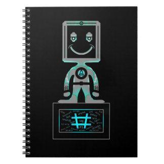 Cuaderno Superhéroe de la etiqueta del hachís