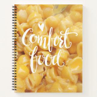 Cuaderno Sus recetas preferidas de la comida de la