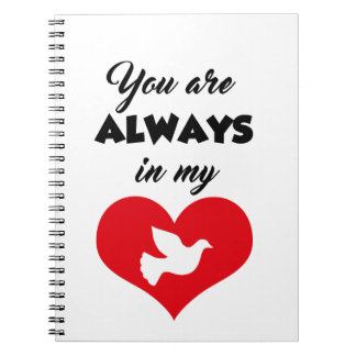 CUADERNO T SHIRT ALWAYS IN MY HEART