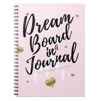 Cuaderno Tablero ideal en un diario