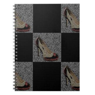 Cuaderno Tacones altos texturizados
