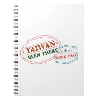 Cuaderno Taiwán allí hecho eso