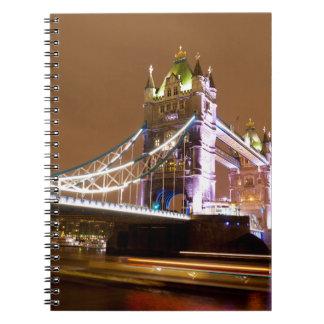 Cuaderno Tarde del puente de la torre