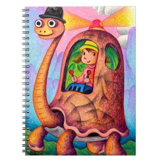 Cuaderno Taxi de la tortuga
