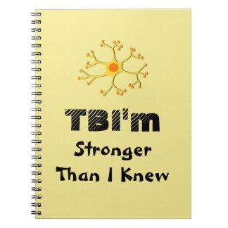 Cuaderno TBI'm más fuerte que mí sabía