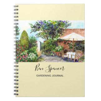 Cuaderno Terraza de la casa señorial, York