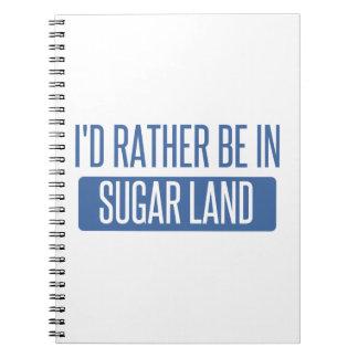Cuaderno Tierra del azúcar