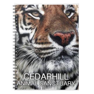 Cuaderno Tigre de Cedarhill