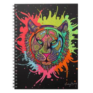 Cuaderno Tigre del arco iris