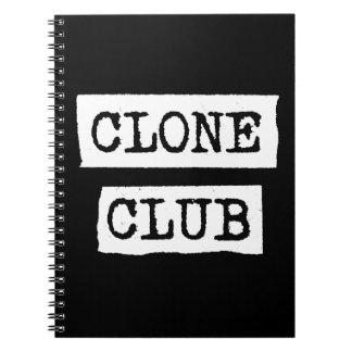 Cuaderno Tipografía huérfana del club de la copia del negro