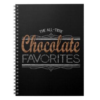 Cuaderno Todos los favoritos del chocolate