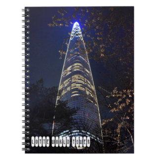 Cuaderno Torre del mundo de Lotte