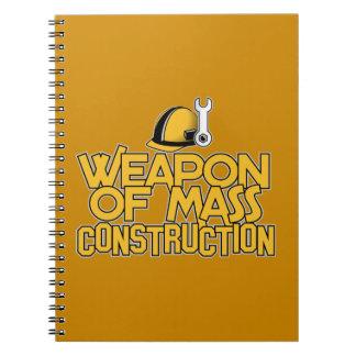 Cuaderno total del personalizado de la construcció
