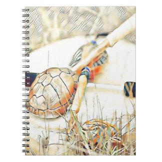 Cuaderno Traqueteo y tambor del clan de la tortuga