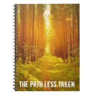Cuaderno Trayectoria tomada menos