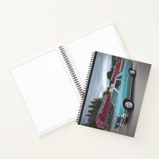 Cuaderno Tren clásico 1965 de la montaña del coche del