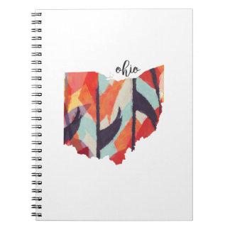 Cuaderno tribal del diseño de Ohio